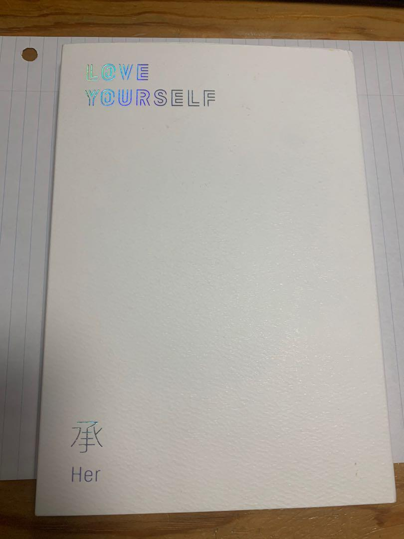 BTS Love Yourself Album