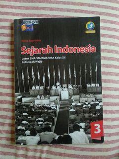 BUKU SEJARAH WAJIB INDONESIA KELAS 12/XII FACIL GRAFINDO