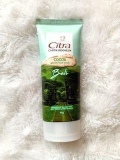 Citra Cocoa Gentle Face Scrub 90gr
