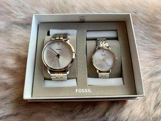 FOSSIL COUPLE WATCH