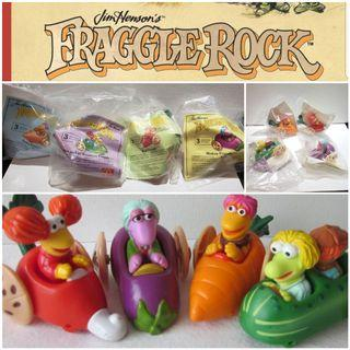 Full Set of New Fraggle Rock 1988 McDonald's Happy Meal Toys