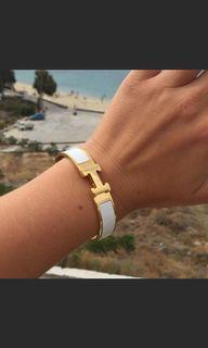 Hermes click bracelet dupe