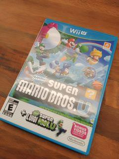 Nintendo Wii U New Super Mario Bros. U + New Super Luigi U Video Game (READ DESCRIPTION PLEASE)