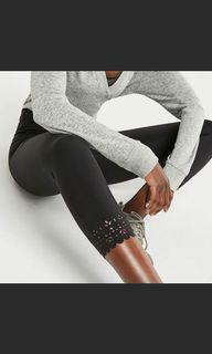 Perforated leggings