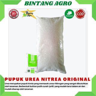 Pupuk Urea Nitrea 1kg Pupuk Penyubur Tanaman - Kemasan Repacking 1kg