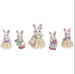 Sylvanian Families Town Fashion Outfit Set Bling Jewelry Collection