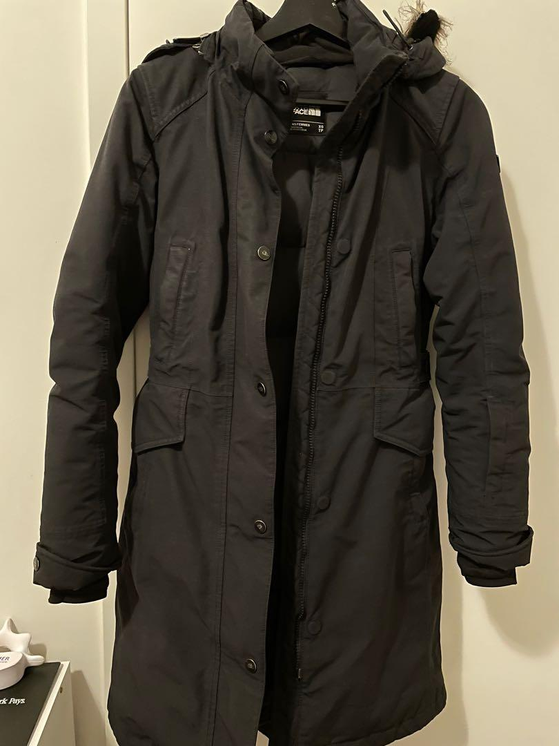 The North Face parka jacket