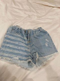 Zara童裝牛仔短褲