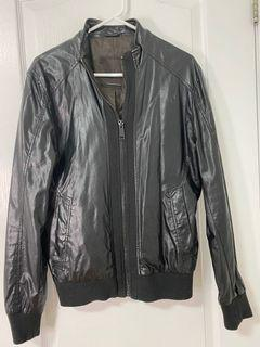 Zara, black jacket / fashion