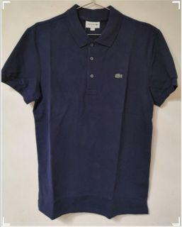 ($700for2)(M&L碼)LACOSTE 夏季Polo Tee Blue 寶藍色