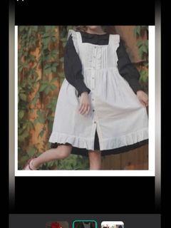 雪紡歌德蘿莉塔風洋裝