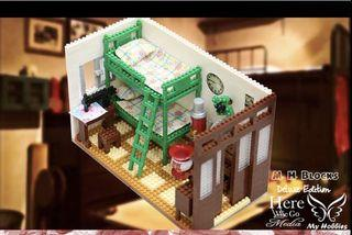 出清 閒置 M.H. Blocks 香港品牌積木 懷舊 板間房