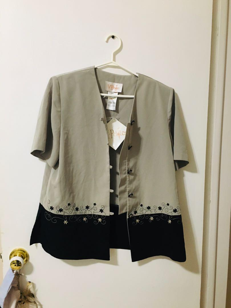 Bnwt vintage button up