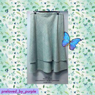 Calypso• Skirt - light blue PLUS SIZE XL