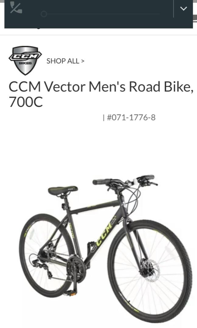 Ccm vector 700c bike