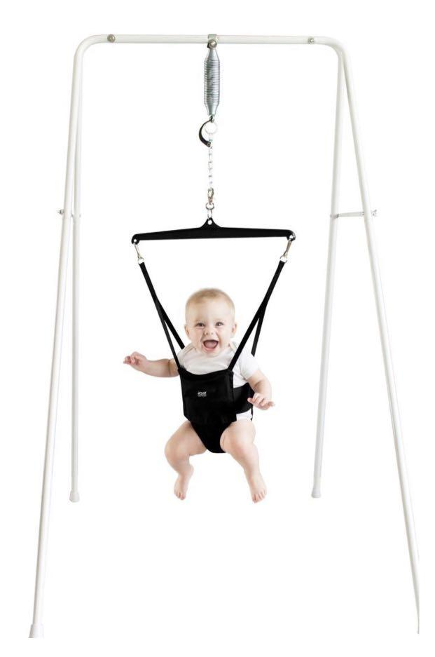 Child jolly jumper with stand