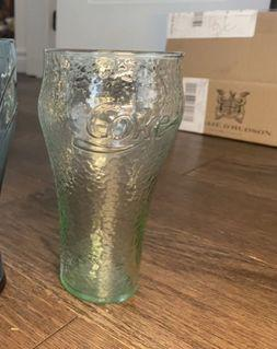 Coca Cola collectible glass