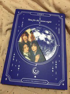 GFRIEND album 'Time For The Moon Night' moon ver.