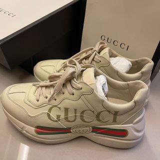 Gucci老爹鞋 正品全配喜歡私