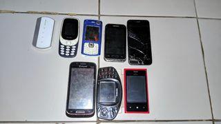 Hp jadulan dan iphone hdc