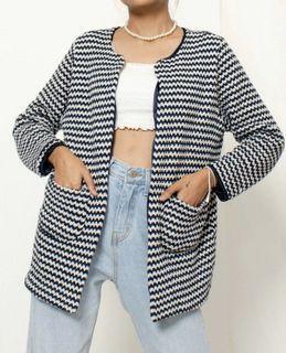 Knit outer, outerwear, luaran youpoppin
