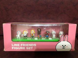 LINE FRIENDS FIGURE SET- line friends公仔一套