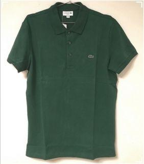 ($700for2)(M&L碼)LACOSTE 夏季Polo Tee Green