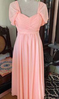 Chiffon Multi Ways Long Gown