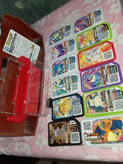 Pokémon gaole game chips with case