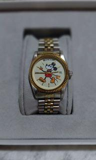 Rare Bulova daydate oyster perpetual homage mickey mouse edition
