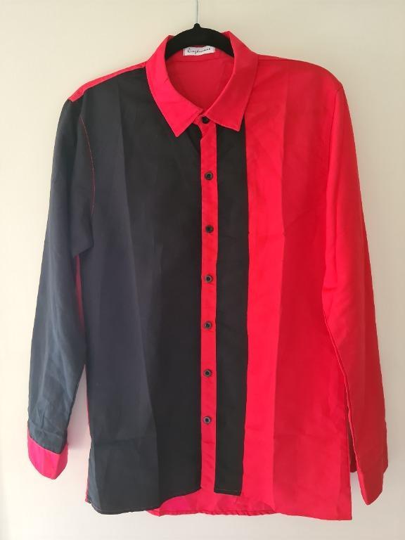 Red & Black Mens Fashion Shirt