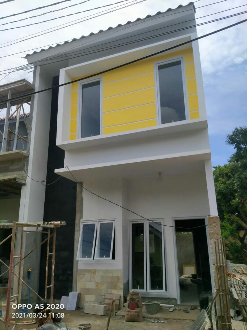Rumah kavling baru siap huni di pondok ranggon cipayung jakarta timur