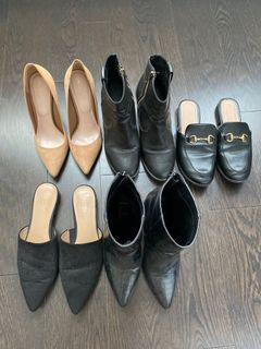 Shoes various prices, message to ask!