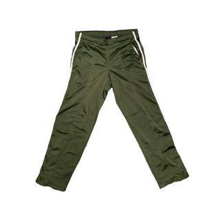 VINTAGE NIKE HUNTER GREEN TRACK PANTS