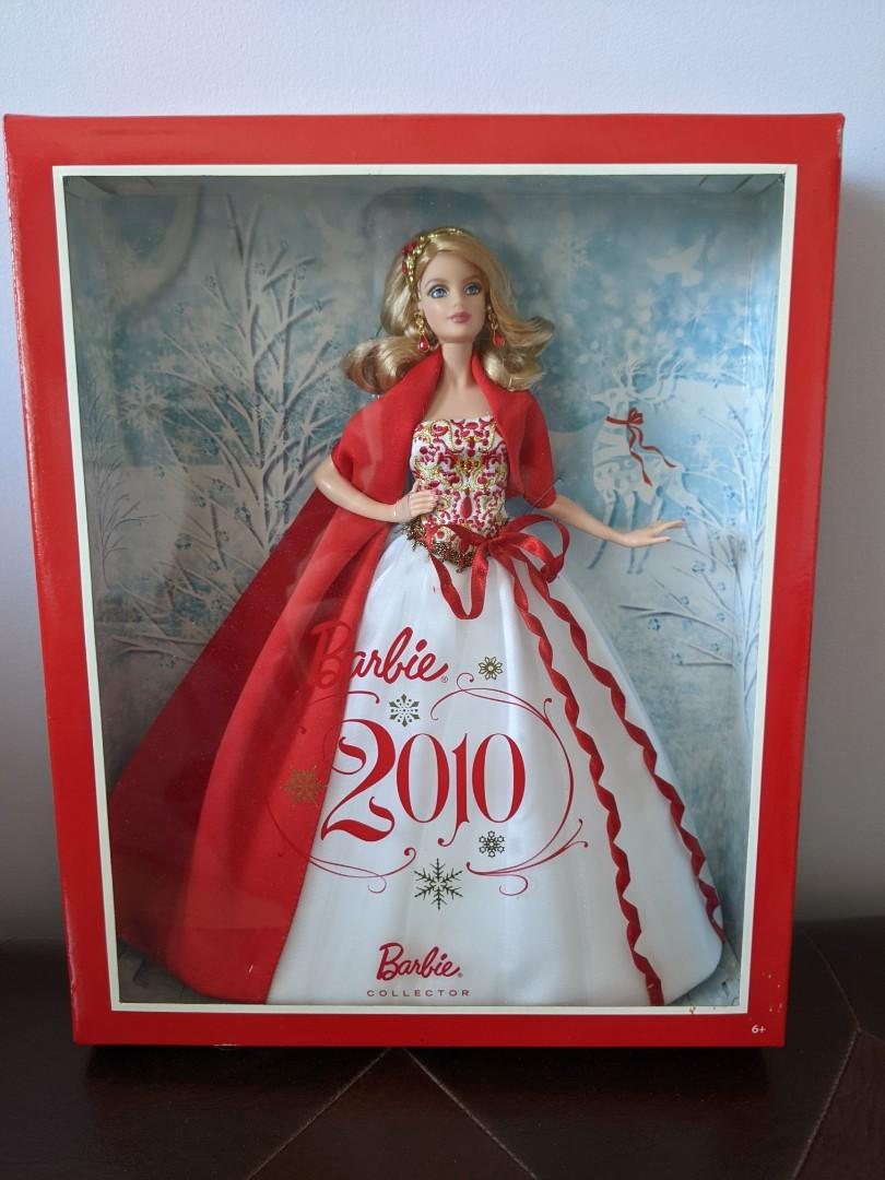 2010 Holiday Barbie collectable