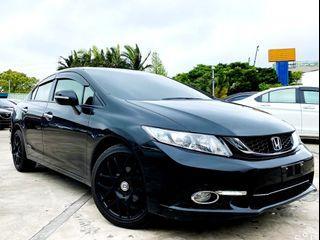 2014 Honda Civic 1.8 VTi 頂級款❗0頭期❗0元牽車❗高期數❗低月付❗客制改裝❗輕鬆把🚗牽回家❤️