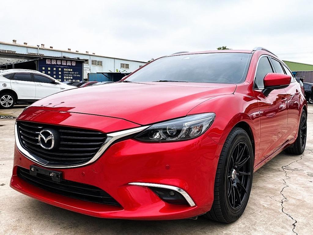 2017 Mazda 6 頂級型❗0頭期❗0元牽車❗高期數❗低月付❗客制改裝❗輕鬆把🚗牽回家❤️