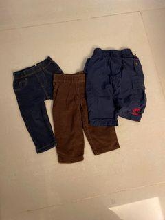 3件褲子 oshkosh carter's