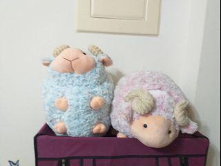 療育綿羊暖手枕