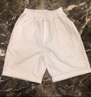 超涼感韓系輕薄反摺短褲