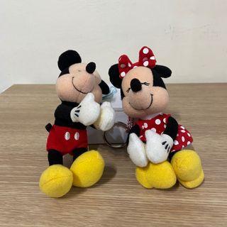 🌸鑰匙圈 迪士尼 米奇&米妮 2入組