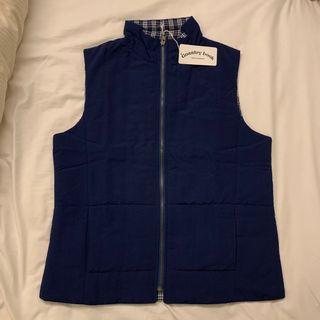 全新深藍色男裝中碼背心 Male dark blue navy size Medium M vest
