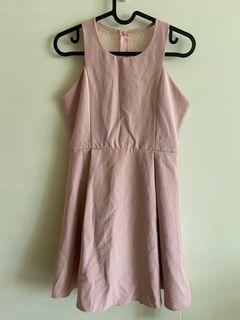 降價 Airspace 洋裝 粉紅 婚禮 伴娘 美背 全新