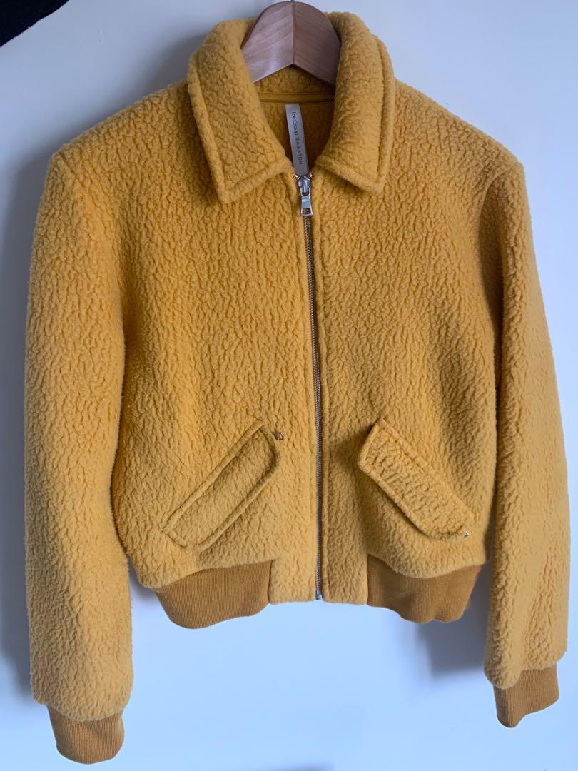Babaton shearling jacket