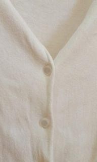 Cardigan putih love letter knit