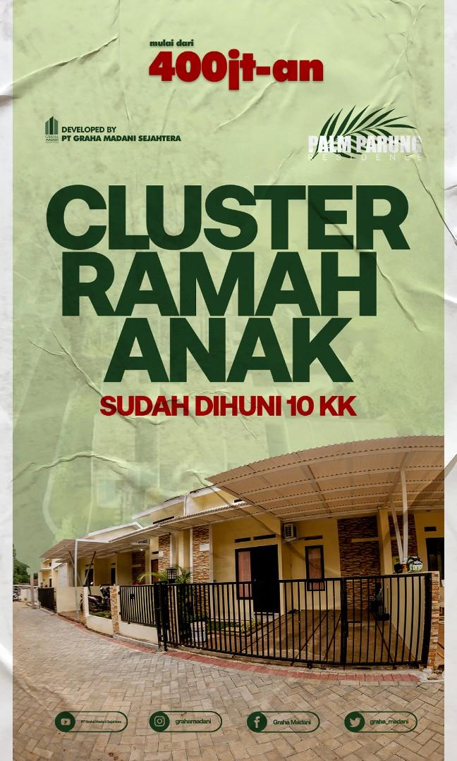 Cluster Parung Residence Tahap 2 DP 20jt All-in