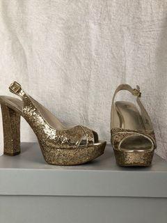 Gold sequence platform heels