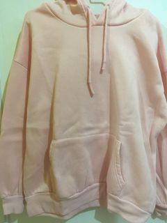 hoodie baby pink polos