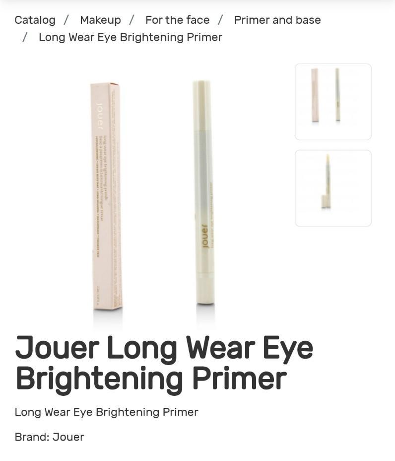 Long Wear Eye Brightening Primer JOUER