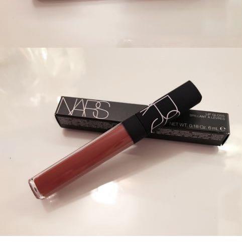 Nars lip gloss (shade: Aragon)